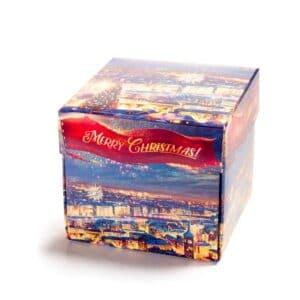 Cube 7 med Merry Christmas innpakking