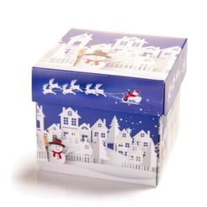 Cube 9 med the Snowman innpakking