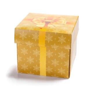 Cube 9 med The Gift innpakking