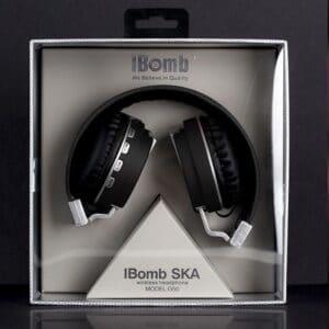 iBomb SKA hodetelefoner med boks