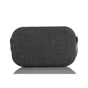Tekstiltrukket høyttaler med bærehåndtak - Koksmelert